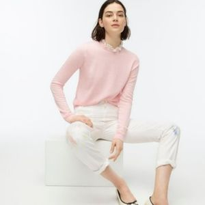 J. Crew Tippi Sweater with Lace Collar